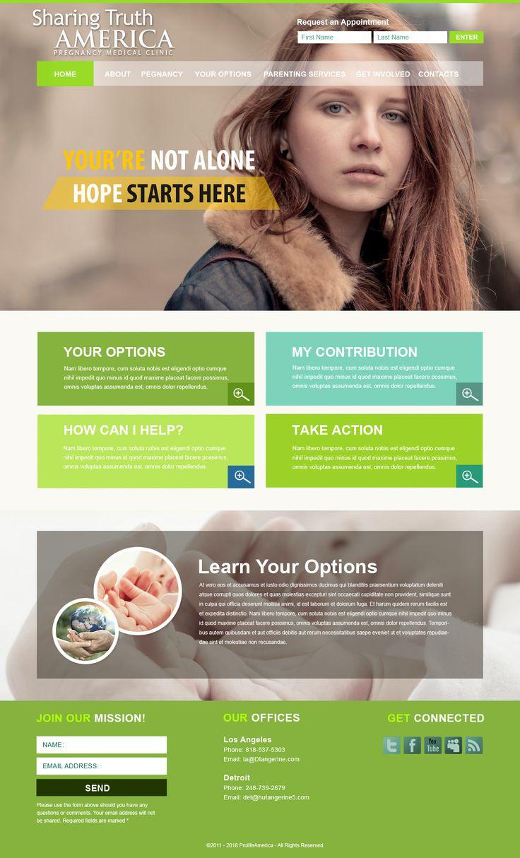 8 best Pregnancy Care Website Design Concepts images on Pinterest ...