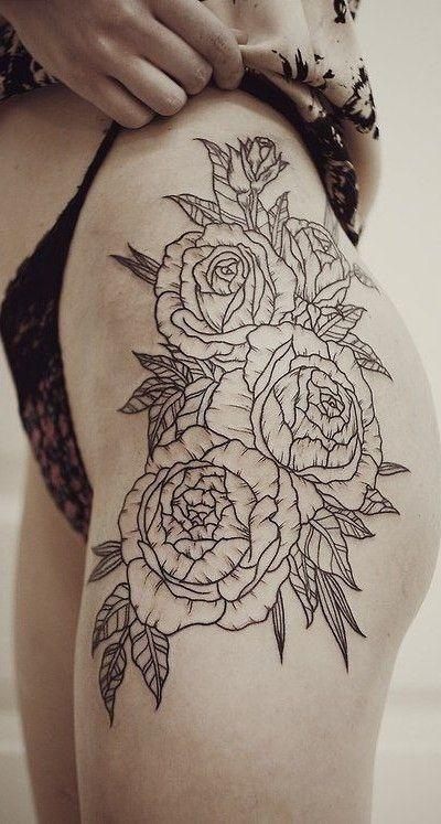 Resultado de imagen para tattoo cadera