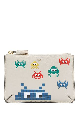 Loose Pocket Space Invasion Pouch by ANYA HINDMARCH for Preorder on Moda Operandi