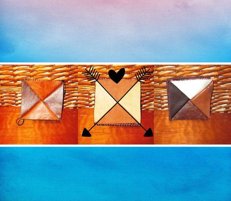 Box wallets. By Jenny South.