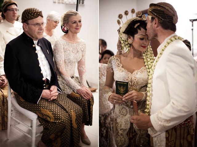 memories on the wall: Akad Nikah Indah Kalalo & Justin Werner 2011