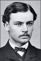 Robert Lincoln, son of Pres. Abraham Lincoln. One day as he was preparing to board a train, it suddenly lurched and Lincoln fell between the train and track. Before he was injured, he was pulled to safety by Edwin Booth, brother of John Wilkes Booth, who soon after shot and killed Robert's father, the President. True story.