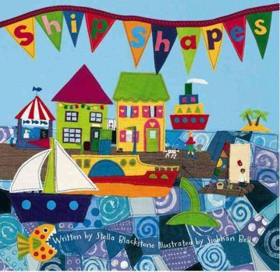 See how many everyday shapes you can spot while sailing the open sea in search of jewels and treasure! Children will ride the waves to a faraway island in this lively, shape-filled ocean adventure, with appealing fabric art by Siobhan Bell.