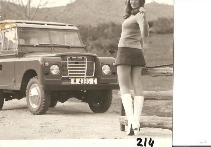 Ladies and landrovers