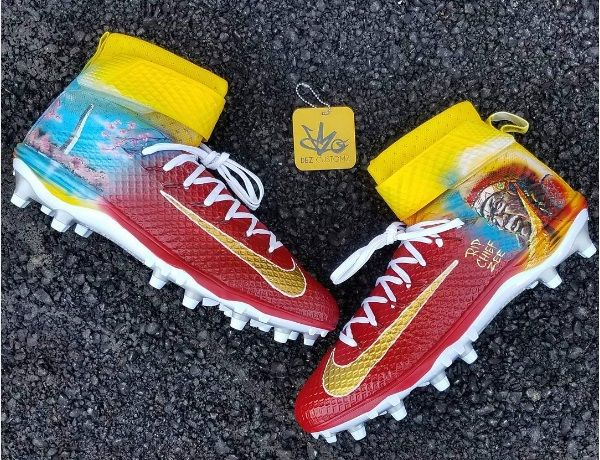 Why one Redskins player honored Chief Zee on his cleats