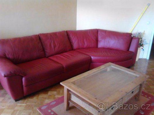 Kožená sedačka / Sofa Ikea Vreta - Liberec, prodám