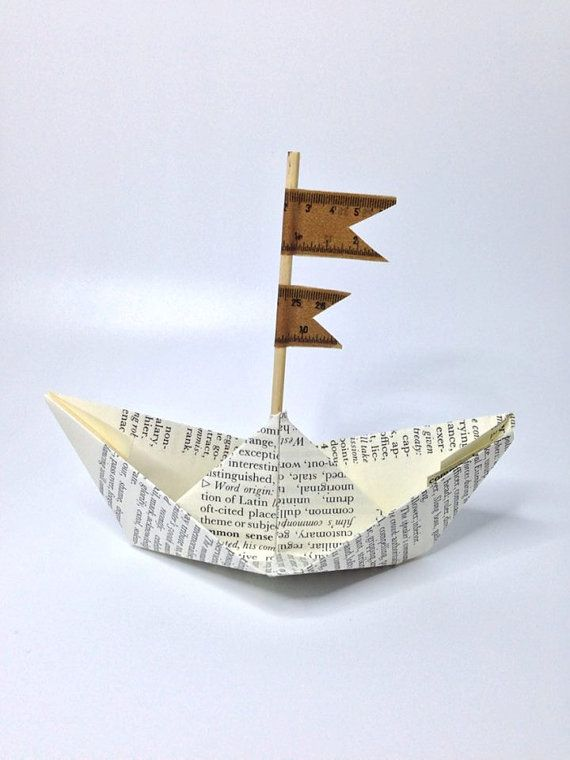 #paperboats lovely little paper boats!