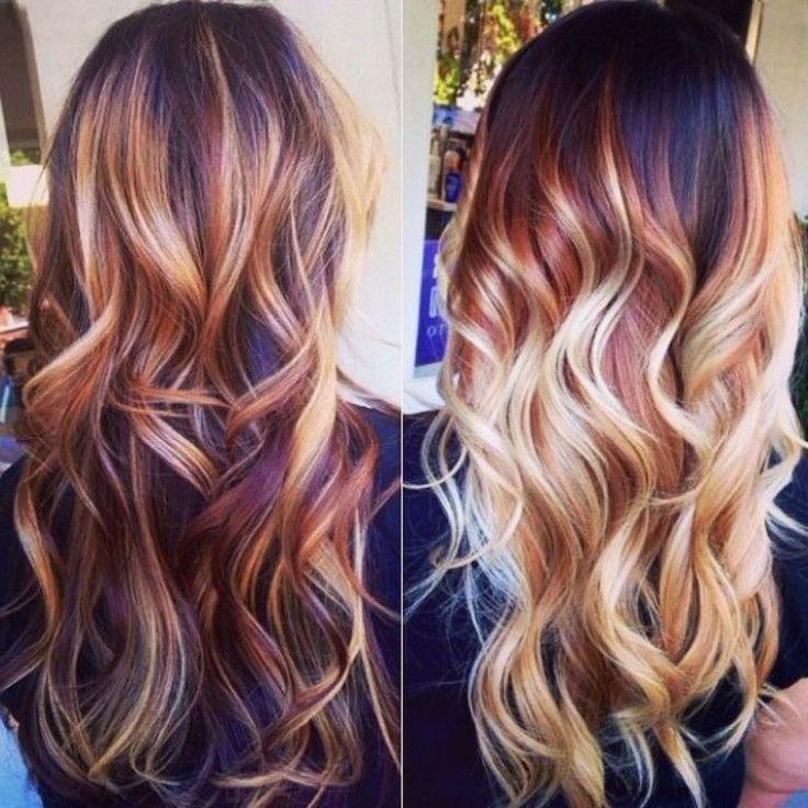 Best 25+ Burgundy hair highlights ideas on Pinterest ...