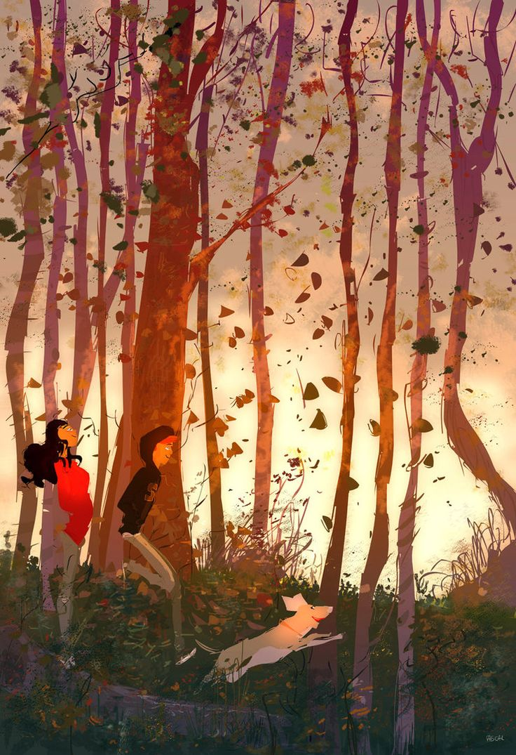 Into the fall. by PascalCampion on deviantART