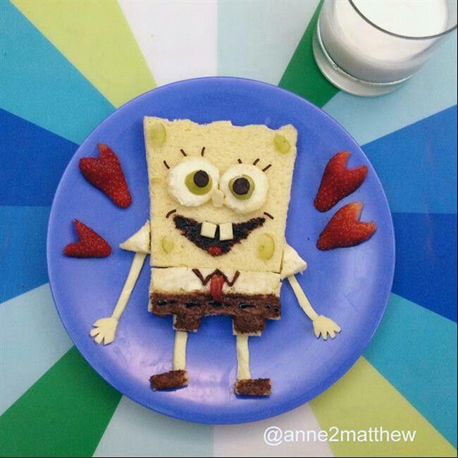 Bob esponja pão