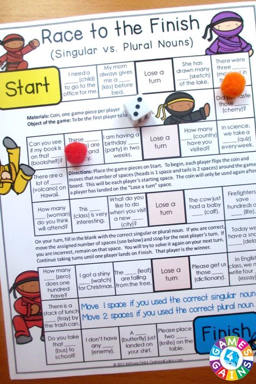 Looking for a fun way to practice nouns?  This Nouns Games packet contains 13 fun and engaging printable board games to help students to practice common nouns, proper nouns, singular nouns, plural nouns, collective nouns, possessive nouns, concrete nouns, abstract nouns, and more!