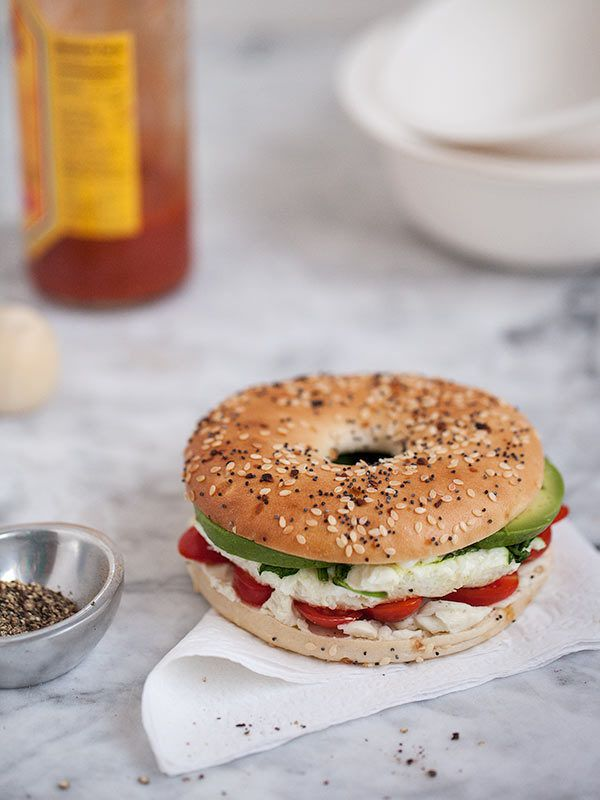 35. Microwave Egg and Vegetable Breakfast Sandwich http://greatist.com/fitness/50-awesome-pre-and-post-workout-snacks