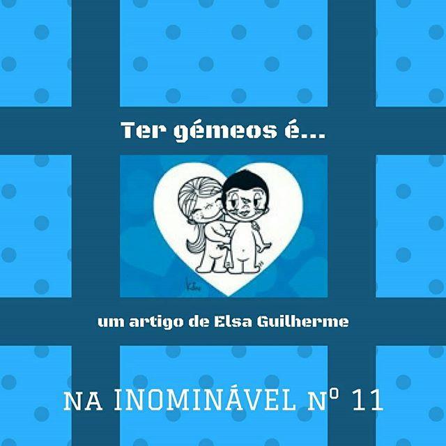 A Elsa fez-nos uma lista bem humorada que resume o que é ter gémeos. Na #revistainominavel n.º 11  https://buff.ly/2CEwPLc  #revistadigital #revistaonline #revista #revistaportuguesa #portuguesemagazine #portugal #bookstagram #instadaily #leitura #parentalidade #mae #gemeos  [link in bio]