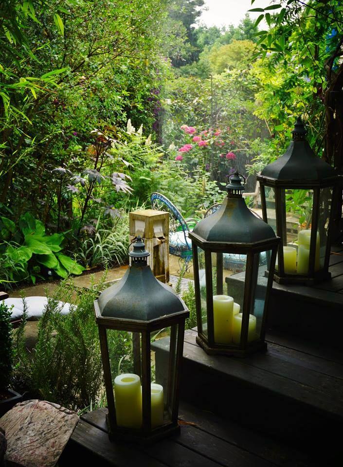 Garden Lanterns • Photo by Karl Gercens