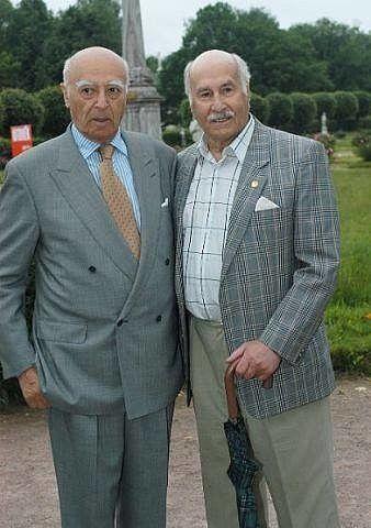 Вот он, эталон мужского стиля!!! 101-летний Владимир Зельдин и 94-летний Владимир Этуш..