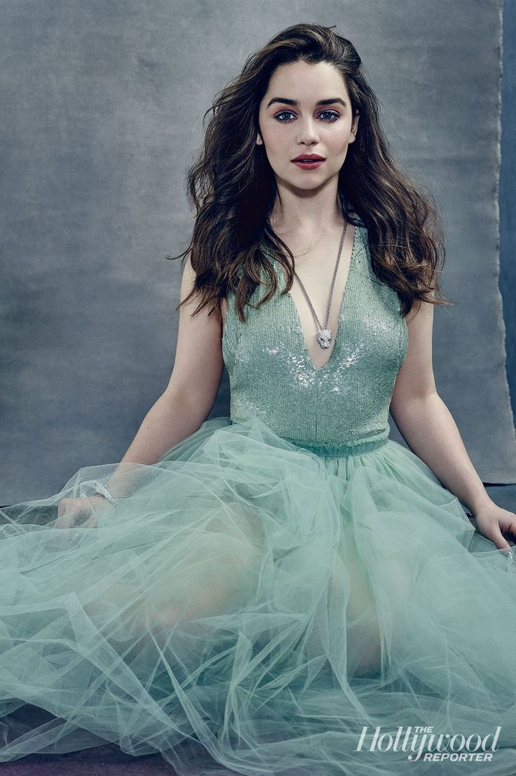 Emilia Clarke for The Hollywood Reporter April 2015