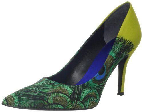 Nine West Women S Flax Pump Green Enchanted Peacock 6 M Us