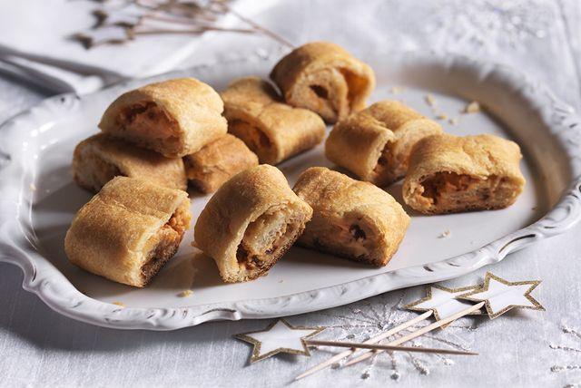 Bouchées aux abricots, aux chipotles et au fromage