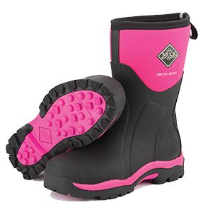 My pink Muck Boots -love them