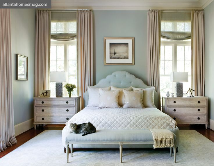 25 Best Ideas about Bed Between Windows on Pinterest