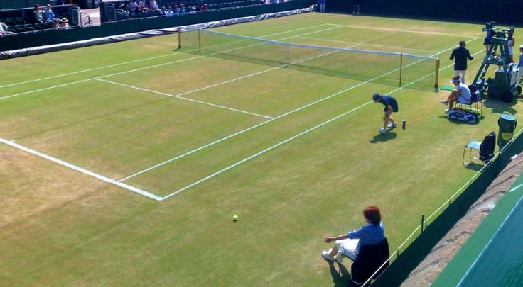 A SCOTUS decision next term could make sports gambling legal in more of US (A Wimbledon grass court by Nic Gould 2009 via Flickr)