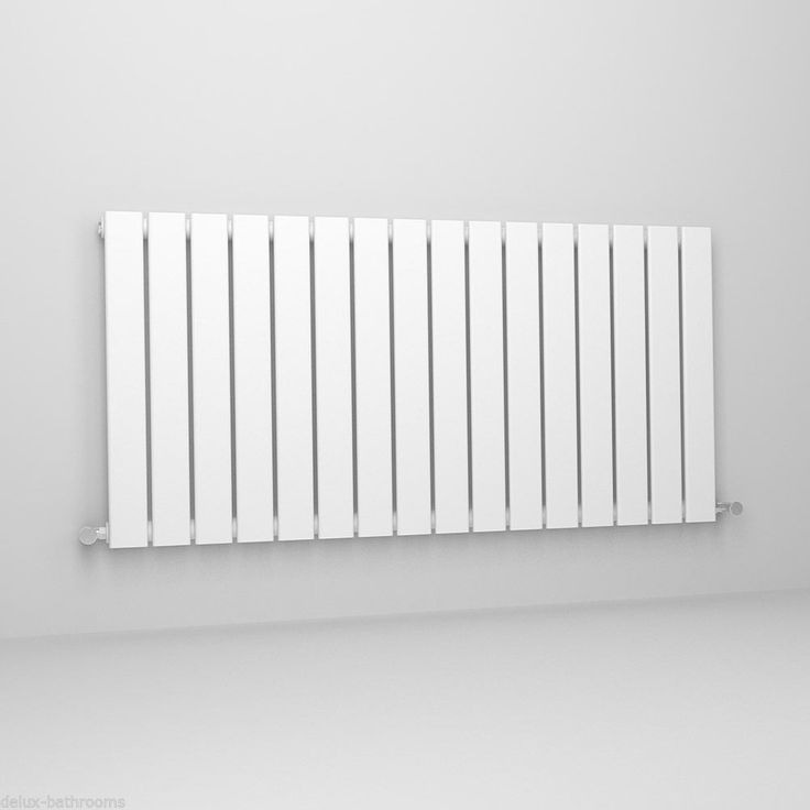 Horizontal Designer Flat Panel Radiators Modern Columns Central Heating UK Rads