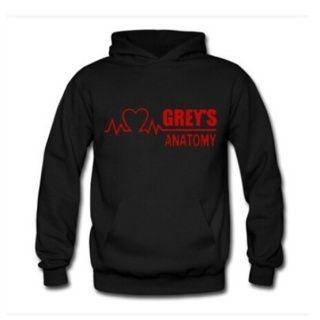 Grey's Anatomy fleece sweatshirts cheap hoodies for women