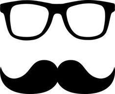 Molde de bigode para o Dia dos Pais