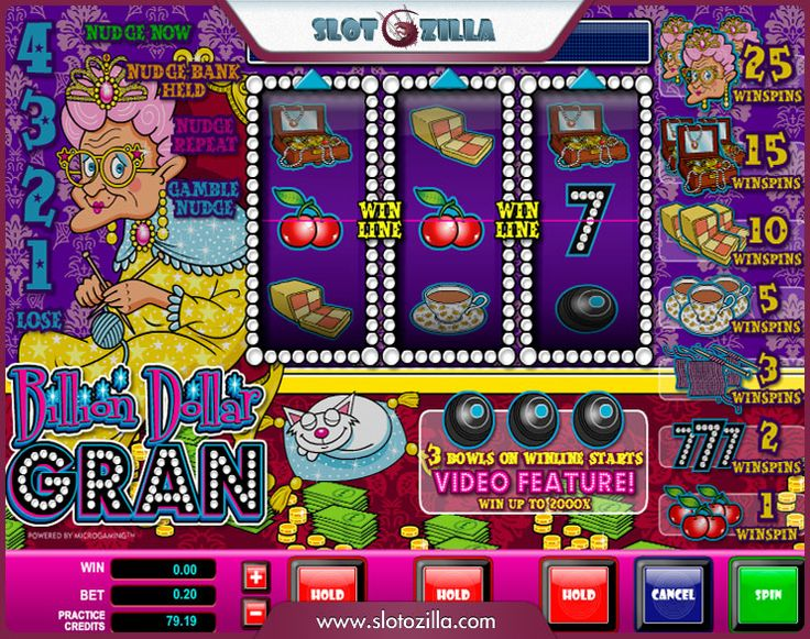 Billion Dollar Gran™ Slot Machine Game to Play Free in Microgamings Online Casinos