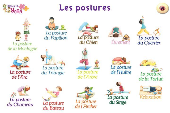 yoga enfant                                                                                                                                                     Plus