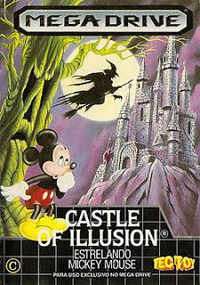 Emularoms: Castle of Illusion: Starring Mickey Mouse (BR) [ S...