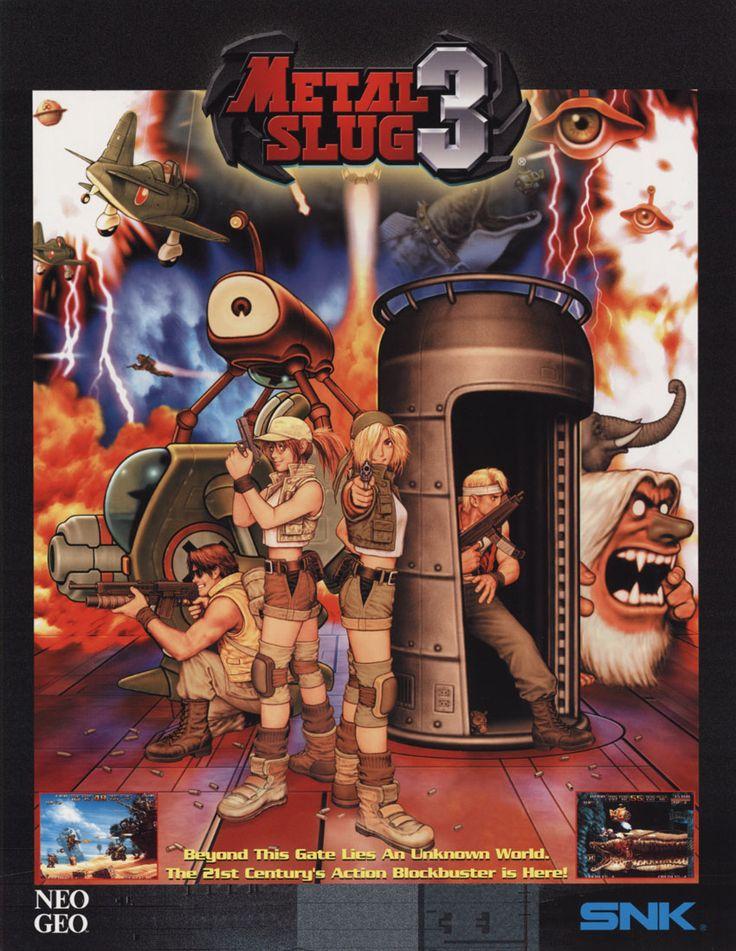 Metal Slug 3, found on Metal Slug Anthology on PS2 and Wii