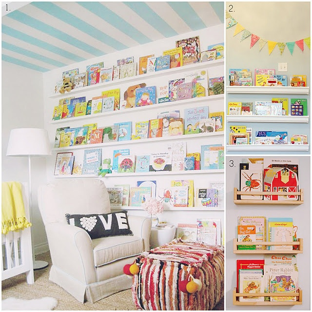 1000 Images About Wall Book Rack On Pinterest Book