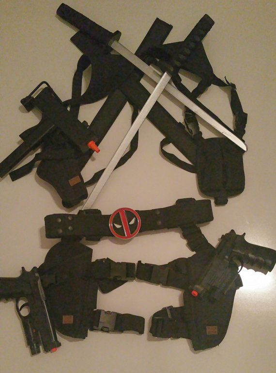 Deadpool swords and holsters - Google Search