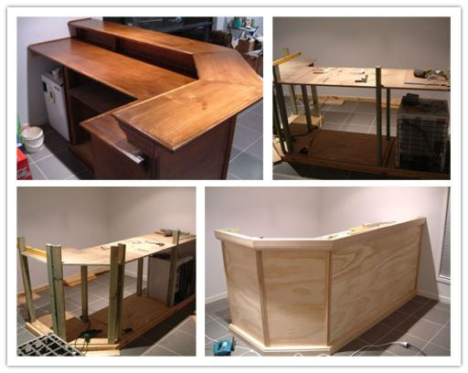 How to build DIY home mini bar step by step tutorial instructions
