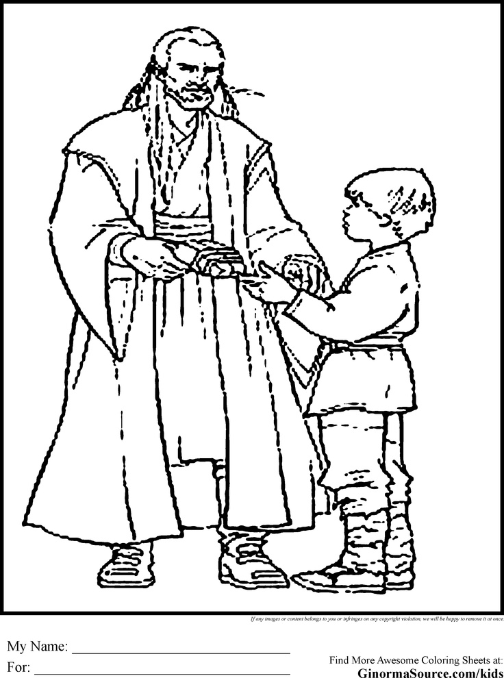 Star Wars Coloring Pages Young Luke (With images) Star