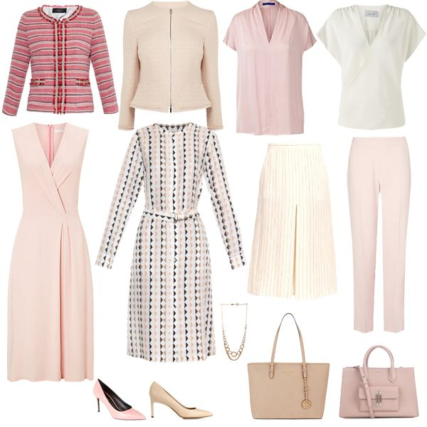 Mini Summer Executive Capsule Wardrobe - Business Wear for Dressing in the Heat