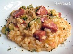 PANELATERAPIA - Blog de Culinária, Gastronomia e Receitas: Risotto Primavera