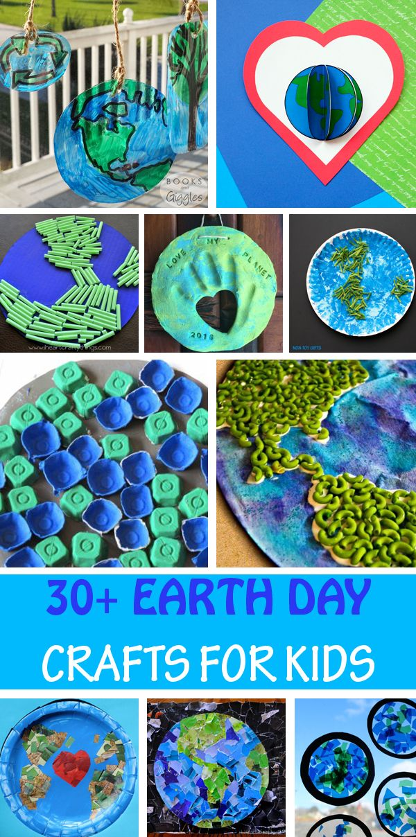 30 Beautiful Earth Day Crafts For Kids Earth Day Crafts Arts And Crafts For Kids Crafts For Kids Earth day activities for kindergarten