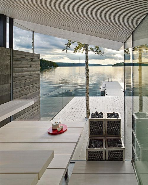 lake house--new book photographed by  james silverman photo  Infinite Space published by Gestalten