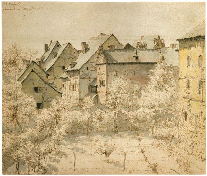 Valentin Klotz (1648-1716/18)Klotz 1648 1716 18Гг, Winter Painting, Valentine Klotz, Art Cityscapes, Art Cities, Art Collection, Photography Art, Art Al, Amazing Artists