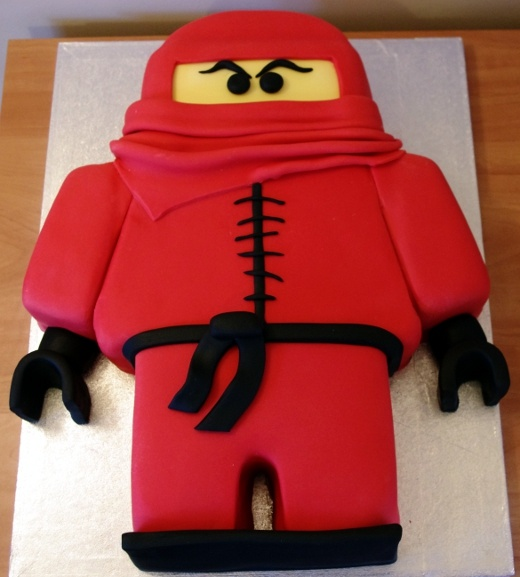 Lego Ninjago Cake.  I am going to be ambitious and try to make this for Beckett's b-day this year!