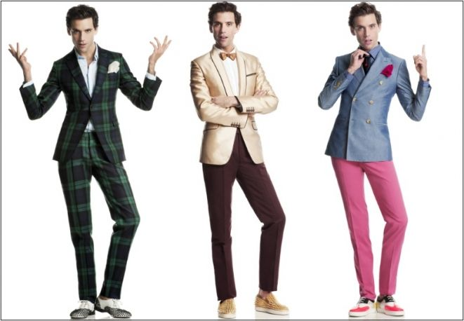 The many suits (and poses) of MIKA