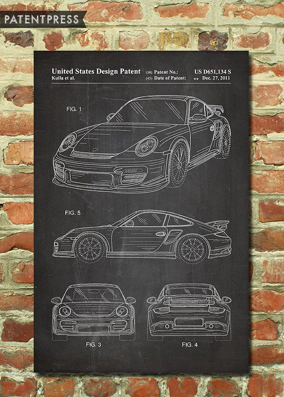 Vintage Porsche Poster 911 Vintage Car Art Decor, Antique Car Decor, Classic Car Room Decor, Vintage Car Nursery, Boys Teen Room Ideas P150