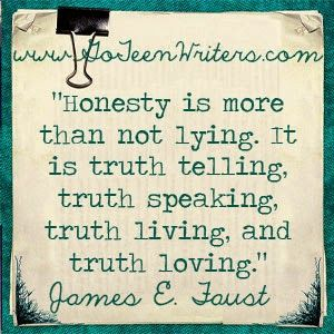 essay about truthfulness