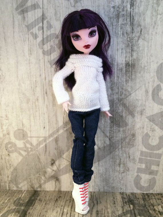Monster High doll clothes. Pretty Hand-Knitted от OrdaliaHandwork