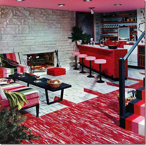 retro interior design see more 1950s interiors - Retro 50s Home Design