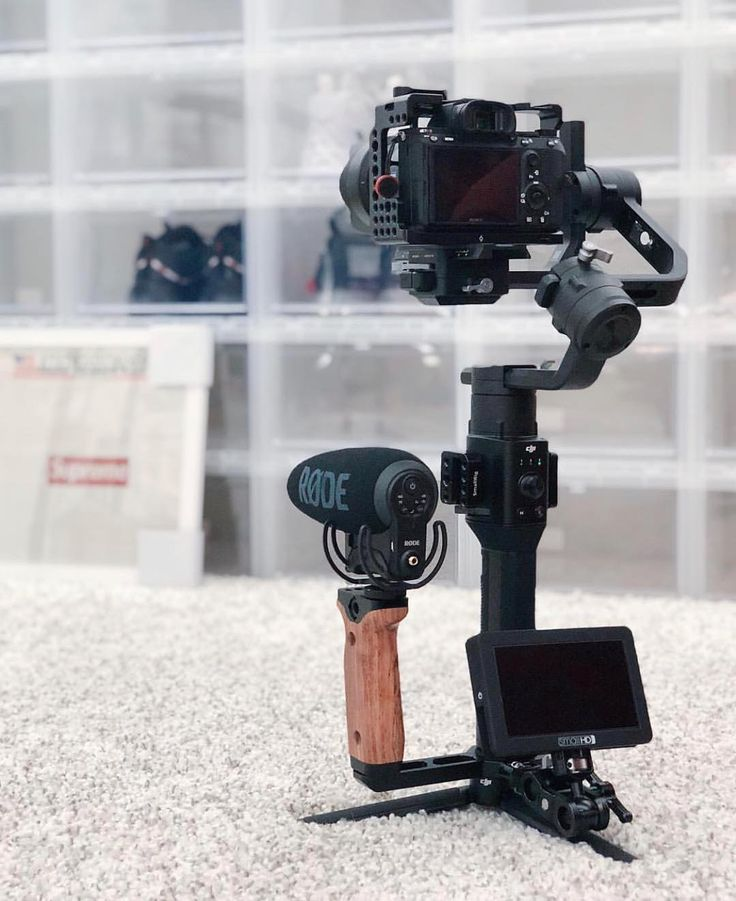 Universal Wooden Side Handle for DJI RoninS/RoninSC