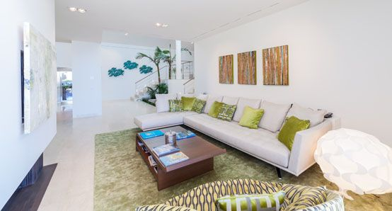 salón, decoración, interior, diseño, arquitectura, lujo
