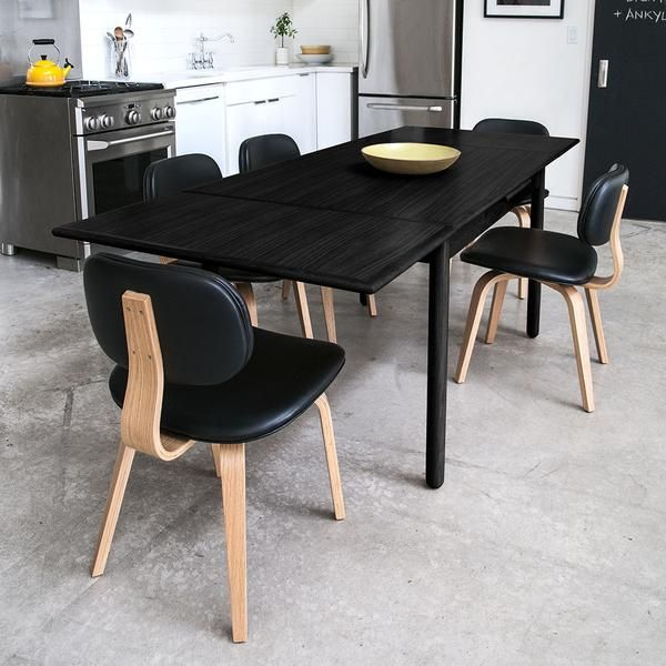 the gus modern portage extension dining table a dining table perfect for spaces